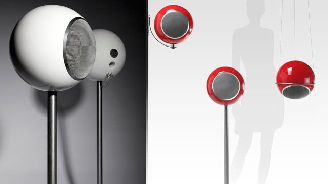 The Orb-Shaped Speakers That Look Like Planets
