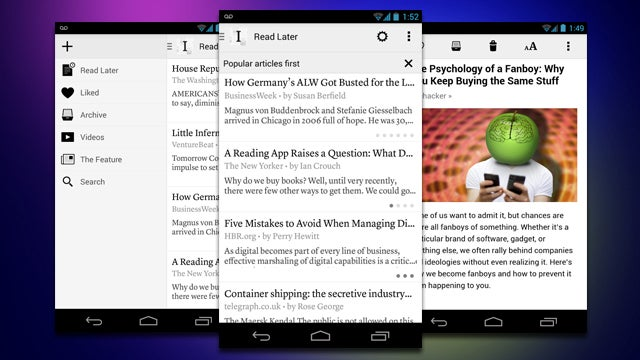Instapaper for Android Gets a New Interface, Sorting Options, and More