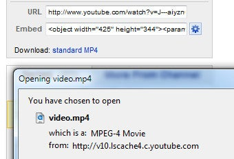"""Get YouTube"" Bookmarklet Grabs YouTube Videos in One Click"