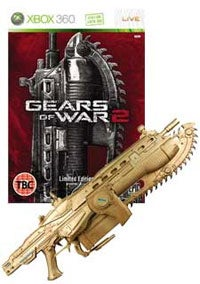 Gamestation Offers World-Exclusive Gold Gears 2 Lancer Replica