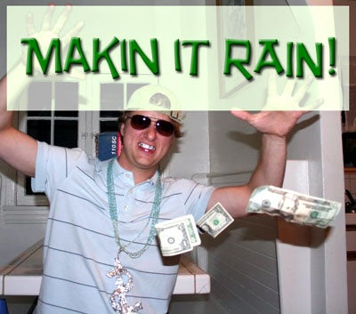 Making It Rain With Trickle-Down Economics