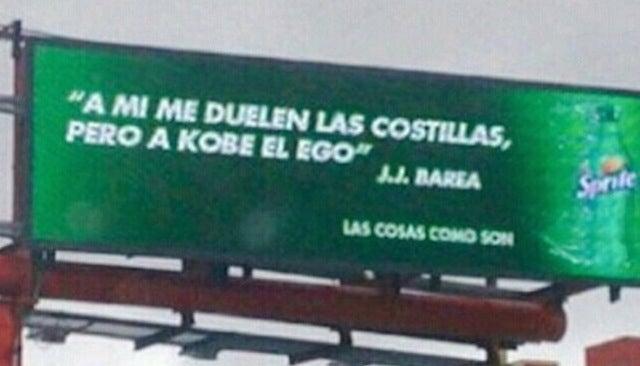 JJ Barea's Sprite Ad In Puerto Rico Takes A Shot At El Ego De Kobe