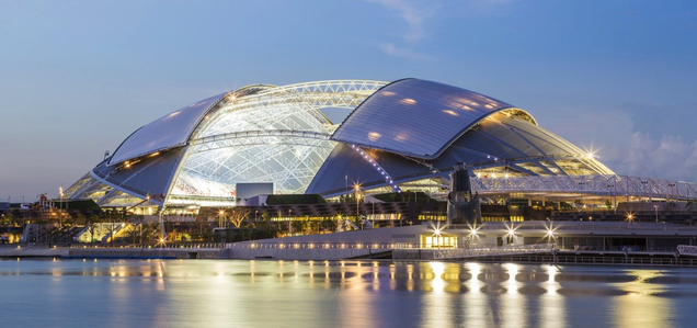 This Awe-Inspiring Stadium Is Now the Biggest Dome Ever Built