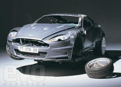 Crash Another Day: 007's Cracked-up Aston Martin DBS Clone