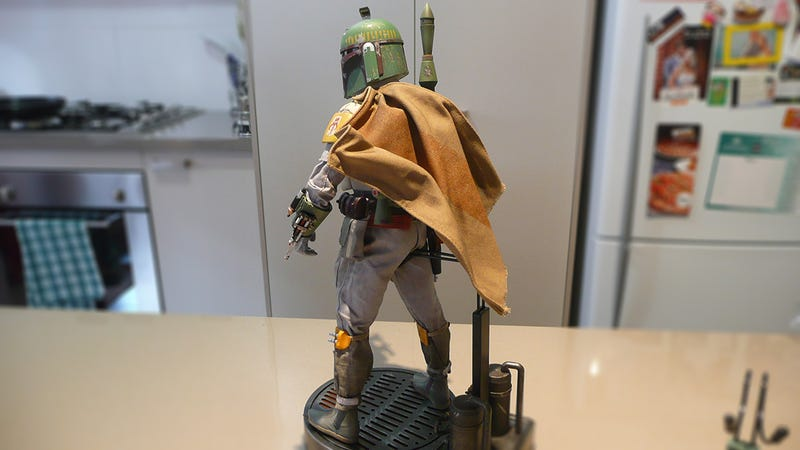"Check Out My 12"" Boba Fett"