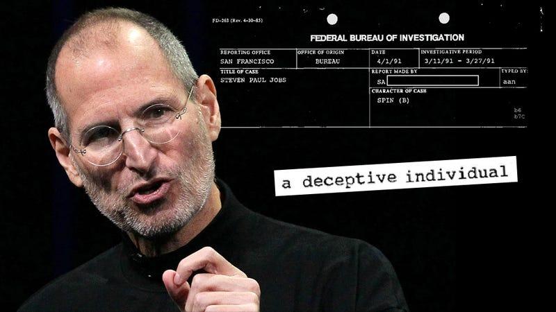 Steve Jobs' FBI File Released