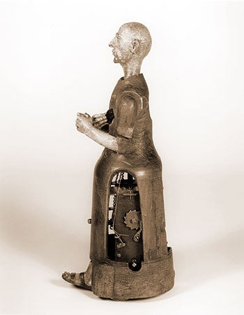 This 450-year-old clockwork monk is fully operational