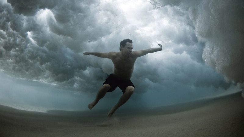 This is what it looks like to fight against the ocean