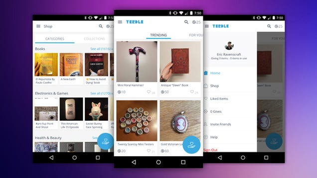 Yerdle Sells Your Clutter For Free, Pays You in App Credit