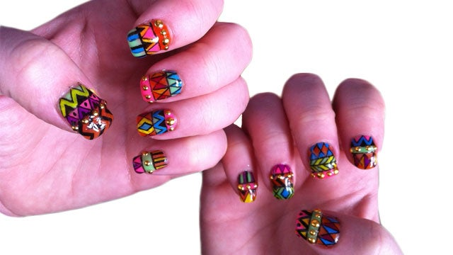 A Manicure That's Tough as Nails