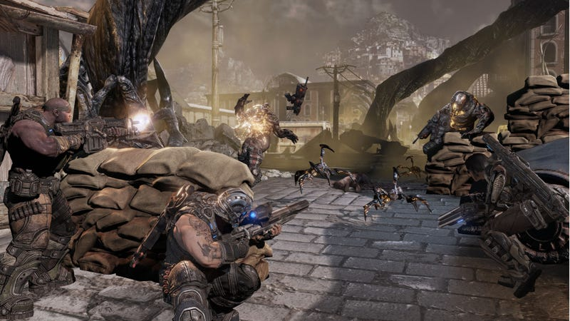 Brown Badasses Are Back: A Boatload of Gears of War 3 Campaign Screens