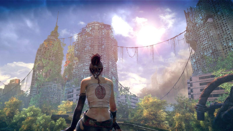 Enslaved May Have The Prettiest Post-Apocalypse Yet