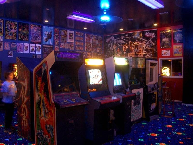 Retro Arcade Gaming Fan Heaven Is Worth Infinite Quarters