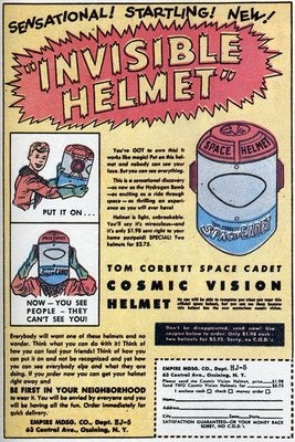 Oobject Comic Book Ads