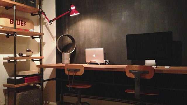 The Wall-to-Wall Workspace for Two