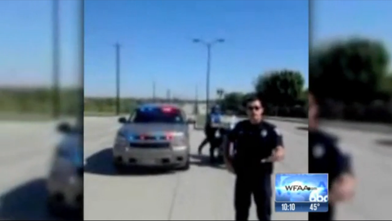 Man Arrested For Waving a Sign Warning Drivers About a Speed Trap