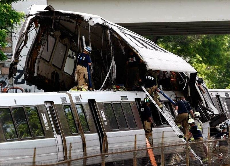 DC Metro Red Line Train Crash Leaves Nine Dead, 75 Injured