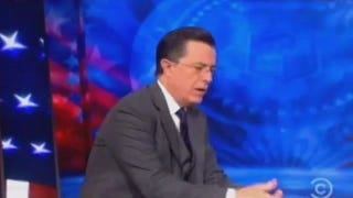 Watch <i>The Colbert Report's</i> Finale Number 'We'll Meet Again'