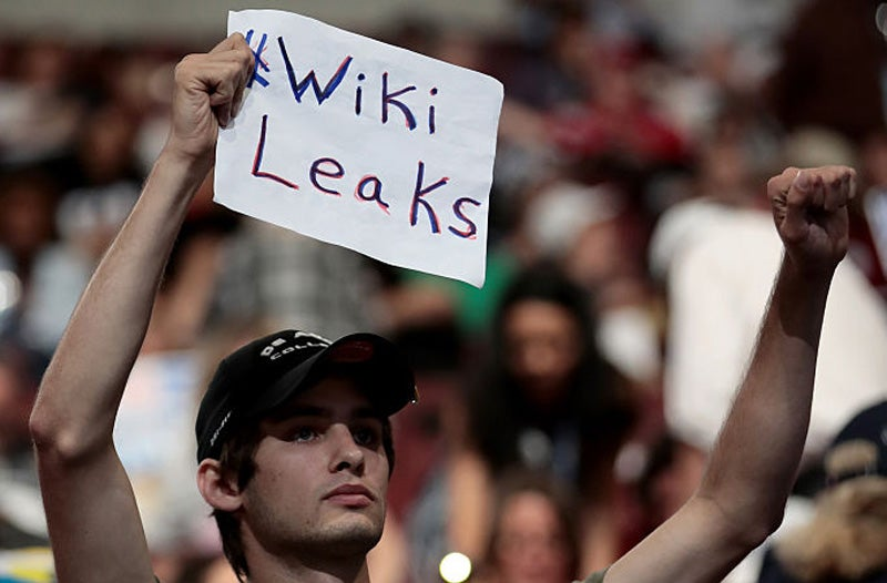 BREAKING: Wikileaks Retweets Some Boring-Ass Voicemails