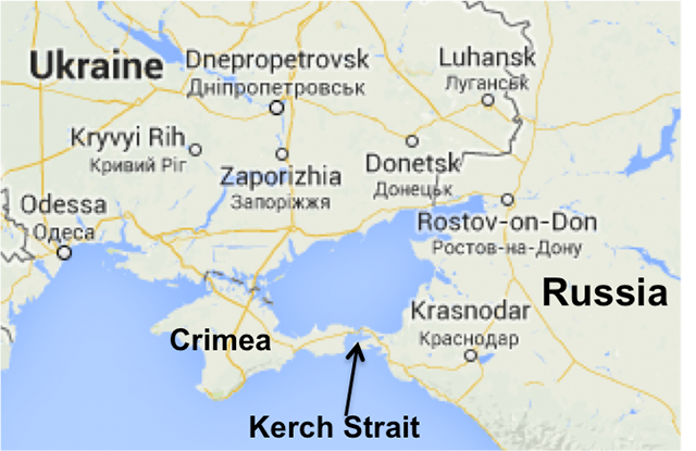 A New Underwater Internet Cable Directly Connects Crimea And Russia