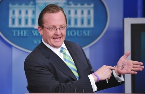 Robert Gibbs Has a Funny Problem