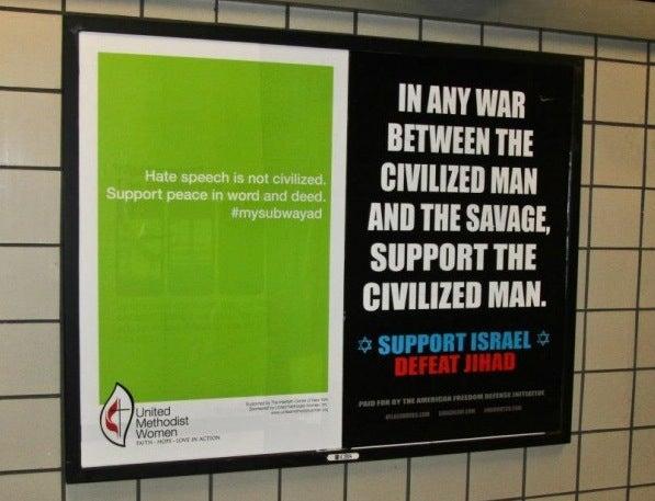 Jews and Christians Partner to Buy Anti-Anti-Muslim NYC Subway Ads