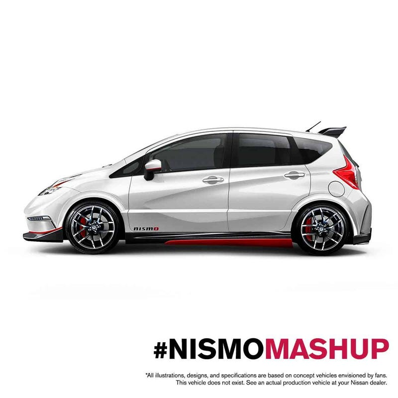 Nissan makes a hot hatch, will never let us have it.