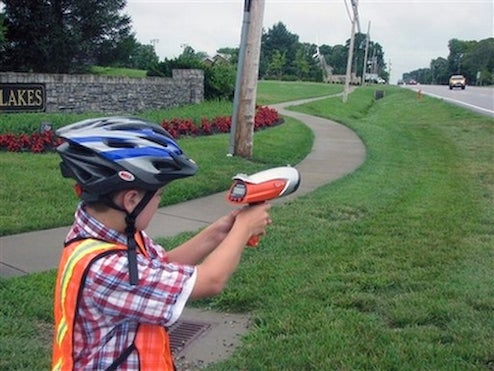 11-Year Old Kentucky Kid Lays Down Hot Wheels Justice On Speeders