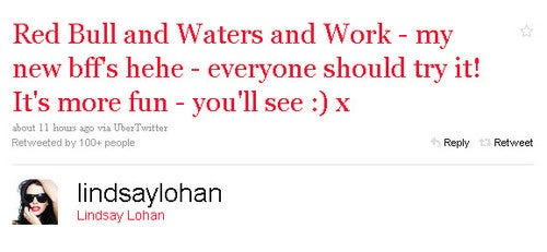 Today's Celebrity Twitter Chatter: Lindsay Lohan's New Drug Nicknames!