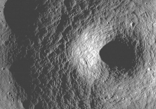 Unusual Moon crater could be the first lunar volcano discovered