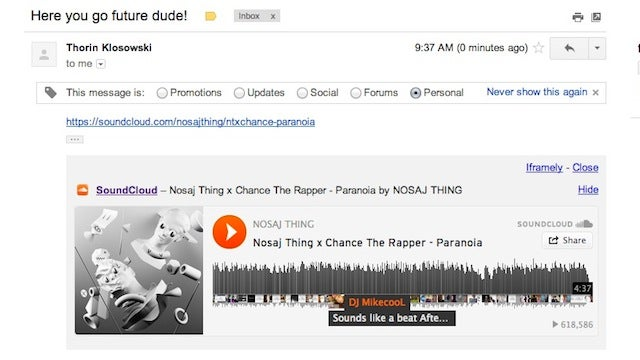 Iframely for Gmail Adds Inline Previews to Links in Gmail