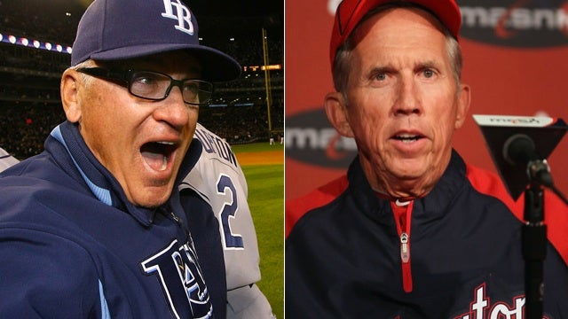 Joe Maddon Vs. Davey Johnson Is A Great Old Man Fight