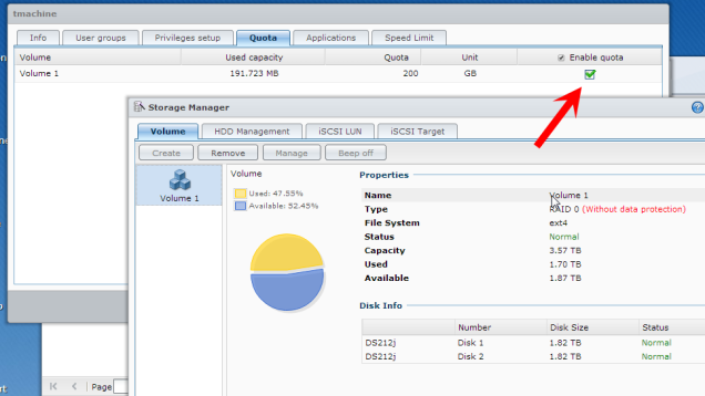 Set a Quota on Your Synology NAS to Keep Space from Filling Up
