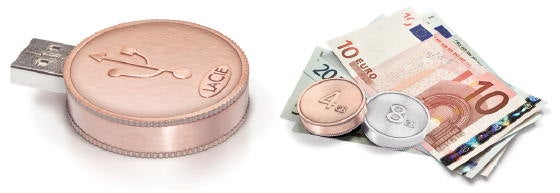 CurrenKey Coin-Shaped Flash Drive: It's Almost a Good Idea