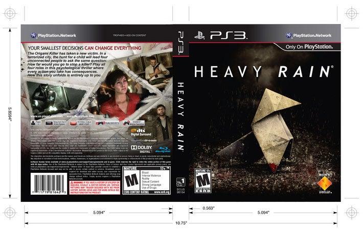Get Your Superior Heavy Rain Box Art Here
