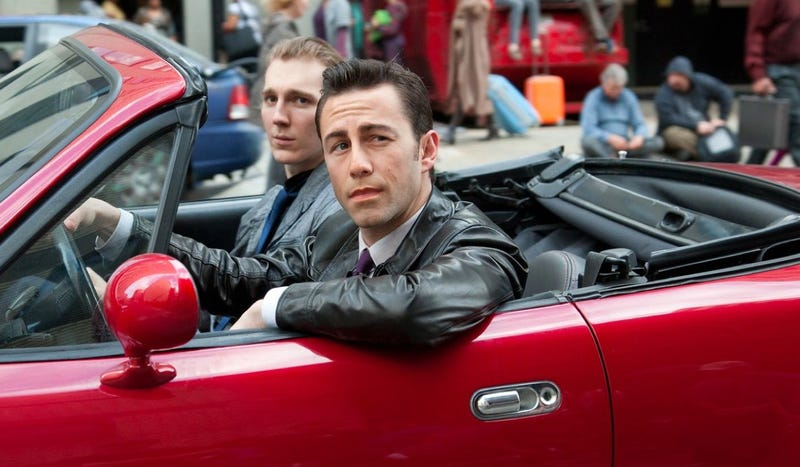 The Future Is Grim In Looper, But At Least There Are Classic Miatas