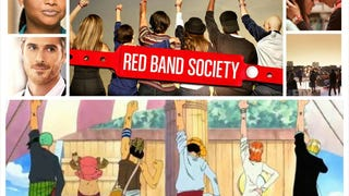 Browsing through Netflix last night, I noticed a picture of the Red Band Society. It looked oddly familiar.