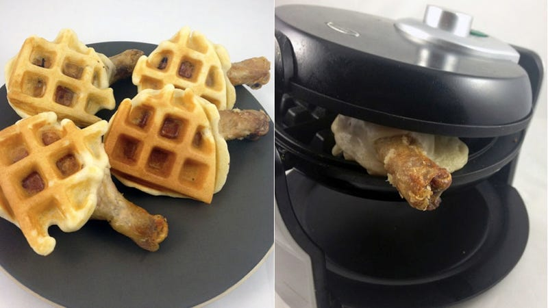 Chicken Waffle Wings Are the Most Brilliant Snack of the Millenium