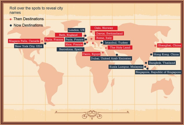 Infographic Reveals How Tourism Has Changed Over 150 Years