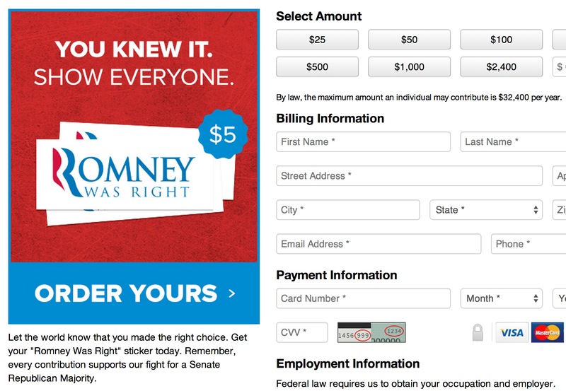 """Romney Was Right"" Is the Dumbest Republican Campaign Pitch Ever"