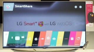 LG's New WebOS 2.0 Ribbon Navigator Might Actually Be Usable