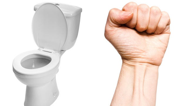 The Secret to Willpower: Having to Pee and Clenching Your Fists