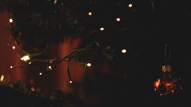 Animated christmas lights gif
