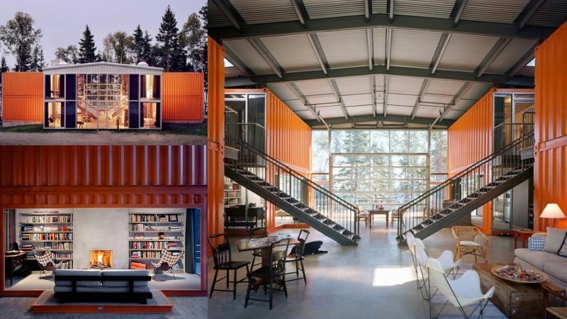 The greatest homes made from shipping containers around for 4000 sq ft steel building