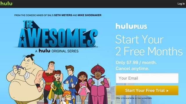 Grab 2 Free Months of Hulu Plus (Instead of the One-Week Trial)