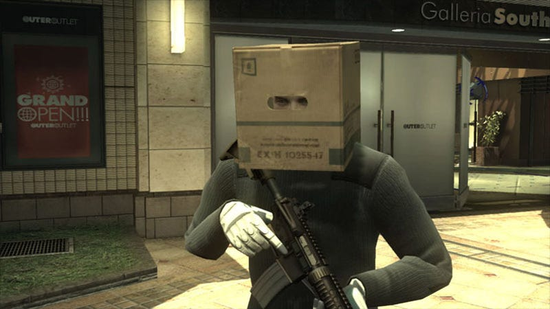 Order Metal Gear Online SCENE Expansion Early, Get Cardboard Box Head
