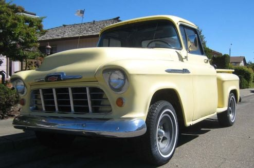 1956 Chevrolet Model 3100 Pickup Truck, With Bonus Ford Versus Chevy Poll