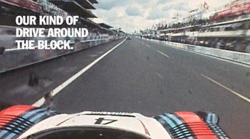 Cool Porsche Ad Does Its Job, Makes Us Wish We Owned A Porsche