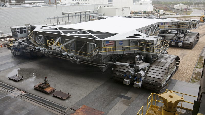 This is NASA's new giant crawler for its next-generation spaceship