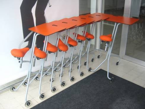 Scooterdesk to Open New Office Chair Racing Era